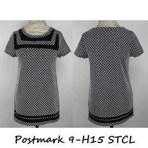Anthropologie Blouse By 9-H15 STCL Postmark Size S
